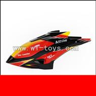 WLtoys V913 2.4G RC single Helicopter Parts, Head Cover, Canopy -01