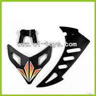 WLtoys V912 2.4G RC single Helicopter Parts,Vertical and Horizontal Tail-05