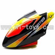 WL V911-01 Head Cover(black&orange) WLtoys V911 WL V911-1 RC Helicopter Spare Parts WL Toys rc model
