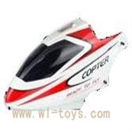 WL V911-03 Head Cover(red&orange) WLtoys V911 WL V911-1 RC Helicopter Spare Parts WL Toys rc model