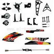 Wltoys V913 Parts Crash set 2,WL toys model Accessories WL V913 rc helicopter Spare parts