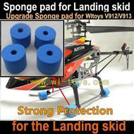 Upgrade WLtoys V912 V913 Sponge pad WL toys V913 rc helicopter parts