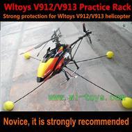 Wltoys V913 V912 the special practice rack WL toys V913 rc helicopter parts