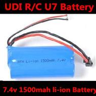 1500mAH Battery wholesale,7.4v 1500mAH battery with Black SM plug