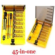 New screwdriver tools 45-In-1 ,A shape, cross, hexagon