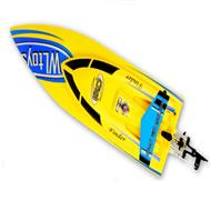 WLtoys WL911 RC Boat , WL 911 Boat parts-24 BNF(Only boat,no battery,no charger,no Transmitter)-Yellow