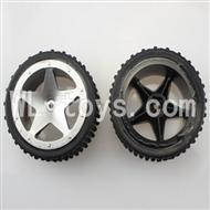 WLtoys L959 Parts-Wheel,Tires,RC Buggy Rear Tire(2pcs)