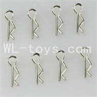 WLtoys L959 Parts-R-Clips,Shell Pin(8pcs)