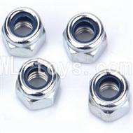 WLtoys L959 Parts-M4 locking Screws(4pcs)