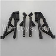 WLtoys L969 L212 Rear Shock Absorption Bracket for L959 L969