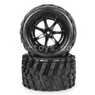 WLtoys L969 L212 RC Buggy Rear Tire(2pcs)