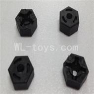 WLtoys L969 L212 Hexagon Wheel Seat(4pcs