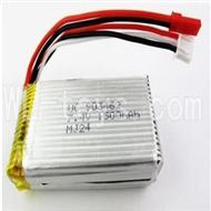 WLtoys L969 Battery Packs,7.4v 1500mah LiPo battery with JST Plug(Can only be Used for L959)