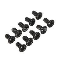 WLtoys L969 L212 Round Head Screw Set 1.8x3mm(10pcs)