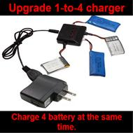 Upgrade 1-to-4 multifunction balance charger plug with conversion socket wholesale