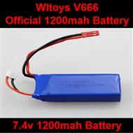 WLtoys V666 RC Quadcopter parts WL toys V666 Official 7.4v 1200mah battery