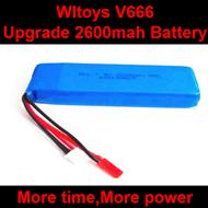 WLtoys V666 RC Quadcopter parts WL toys V666 Upgrade 2600mah battery akku