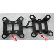 WLtoys V666 RC Quadcopter parts WL toys V666 parts-66 Shock absorber parts A and B