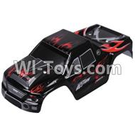 Wltoys A979 Body canapy,Car canopy,Sheel cover-Black