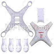 SYMA-X5C-Parts-01 Fuselage SYMA X5C Quadrocopter Syma X5C rc helicopter parts SYMARC X5C TOYS