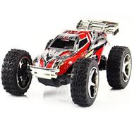WLtoys 2019 rc car,Wltoys 2019 Mini High speed 1:32 Full-scale rc racing car,Updated Version 2019 2.4G Radio Control Truck,1:32 Scale-Red