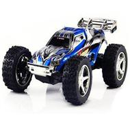 WLtoys 2019 rc car,Wltoys 2019 Mini High speed 1:32 Full-scale rc racing car,Updated Version 2019 2.4G Radio Control Truck,1:32 Scale-Blue