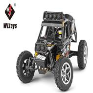 WLtoys 18428 rc car Wltoys 18428 High speed 1/18 1:18 Full-scale rc racing car,1: 18 Nini Electric four-wheel-climbing car with Brake Function-Black color Wltoys-Car-All
