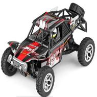 WLtoys 18429 rc car Wltoys 18429 High speed 1:18 Full-scale rc racing car,1: 18 Nini Electric four-wheel-climbing car with Brake Function-Red color