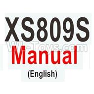 Visuo XS809S Manual PDF,Visuo XS809S Parts