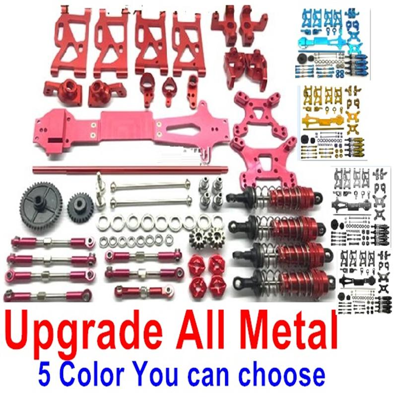 Wltoys 144001 Upgrade All Metal Parts Assembly-Total 20 kit,5 Color you can choose