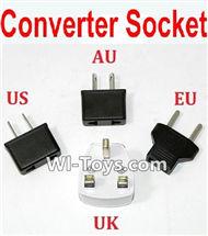 Eachine E010 Spare Parts-31 Standard Adapter Universal Converter Socket(You can choose AU,US,EU,UK Version),Eachine E010 RC Quadcopter Drone Spare Parts Replacement Accessories