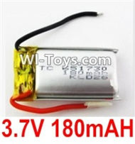 3.7V Battery-3.7V 180MAH 15C Battery with Two wire-651730,Size:30X17X6.5mm,Weight:5.5g,3.7V Lipo Battery,3.7V Li-ion Battery