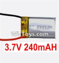 3.7V Battery-3.7v 240mah 15C Battery with Two wire-602030,Size:30X20X6mm,Weight:6.5g,3.7V Lipo Battery,3.7V Li-ion Battery