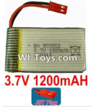 3.7V Battery-3.7v 1200mah 15C Battery with Red JST Plug-903052,Size:555X29X9mm,Weight:27.9g,3.7V Lipo Battery,3.7V Li-ion Battery