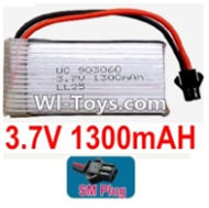 3.7V Battery-3.7v 1300mah 15C Battery with Black SM Plug-903060,Size:62X30X9mm,Weight:32g,3.7V Lipo Battery,3.7V Li-ion Battery