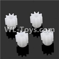 BoMing M50 Spare Parts-10-01 Small motor gear(4pcs)-9 TeethBo Ming BoMing M50 RC Quadcopter Drone Spare Parts Replacement Accessories M50