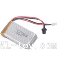 BoRong 6801 RC Helicopter parts, BR6801-parts-11 Official 7.4V 1500MAH BATTERY