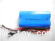 BoRong 6801 RC Helicopter parts, BR6801-parts-12 Upgrade 7.4v 2200mah battery