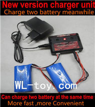 BoRong 6801 RC Helicopter parts, BR6801-parts-14 Upgrade New version charger and balance charger-Can charge two battery at the same time