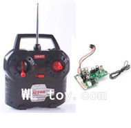 BoRong 6801 RC Helicopter parts, BR6801-parts-16 Transmitter & Circuit board