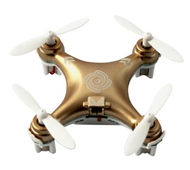 Cheerson CX-10 RC Quadcopter,Cheerson CX-10 RC Mini Drone Quadcopte Aircraft-Brown