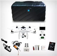 Cheerson CX-22 Quadcopter(include the FPV Image transmission Display device set,HD Camera Set with 2D Cradle head unit and suitcase etc.)-White,Cheerson CX-22 RC Drone Quadcopter Spare parts,5.8G real-time image transmission aerial aircraft accessories