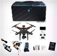 Cheerson CX-22 Quadcopter(include the FPV Image transmission Display device set,HD Camera Set with 2D Cradle head unit and suitcase etc.)-Black,Cheerson CX-22 RC Drone Quadcopter Spare parts,5.8G real-time image transmission aerial aircraft accessories