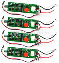 Cheerson CX-22 Parts-18-02 ESC Board,Brushless motor governor(2pcs Red light,2pcs Green light ),Cheerson CX-22 RC Drone Quadcopter Spare parts,5.8G real-time image transmission aerial aircraft accessories