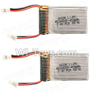 Cheerson CX-33W CX-33S Parts-13-02 7.4v 450mah battery(2pcs),Cheerson CX-33W CX-33S RC Drone Quadcopter Spare parts,5.8G real-time image transmission aerial aircraft accessories