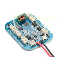 Cheerson CX-33W Parts-15-04 CX-33W Circuit board,Receiver board Receiver Board(Can only be used for CX-33W Drone),Cheerson CX-33W CX-33S RC Drone Quadcopter Spare parts,5.8G real-time image transmission aerial aircraft accessories