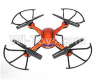 JJRC 34-BNF-Orange(Only the whole F181 Quadcopter,no battery ,no usb charger,No Transmitter)) for JJRC H12 H2C H12D RC Quadcopter parts,Drone parts