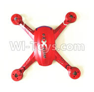 JJRC 37-Upper Shell cover-Red for JJRC H12 H2C H12D RC Quadcopter parts,Drone parts