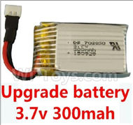 JJRC F180C F180D Parts-17 Upgrade 3.7v 300mah battery for the JJRC F180C F180D Quadcopter(1pcs) For JJRC F180C F180D RC Quadcopter parts,RC Drone parts