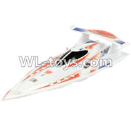 Double Horse DH 7001 RC boat parts ,Shuang Ma 7001 parts-02 Upper shell cover,canopy